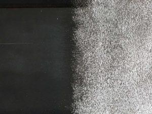 塗装前のブラスト処理