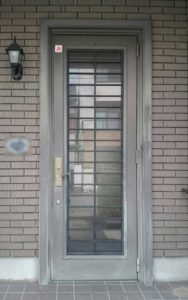 アルミ玄関ドア施工例02