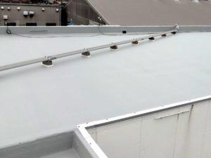 陸屋根シート防水完成