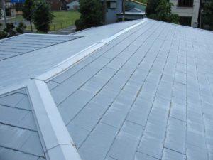 塗装前屋根塗装
