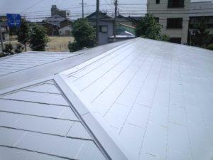 塗装後屋根塗装