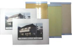カラーシミュレーションと塗り板見本