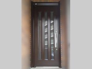 アルミ玄関ドア塗装後