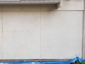 外壁リシン塗装前