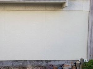 外壁リシン塗装後