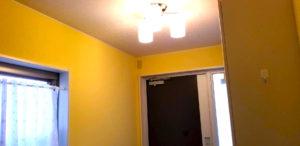 壁紙塗装後